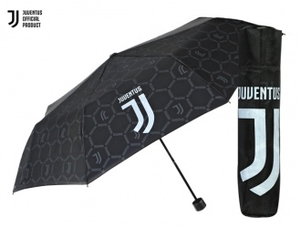 15215<br>Umbrella mini manual 54/8 black Team Juventus<br>