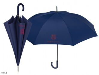 15182<br>Umbrella gentleman golf aut. 69 cm FC BARCELONA<br>