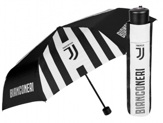 15213<br>Ombrello mini manuale 54 cm antivento Juventus<br>